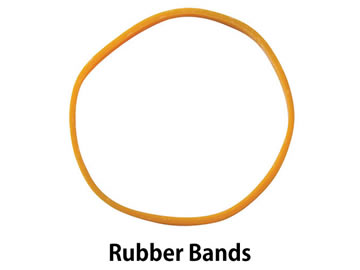 red bands rubber